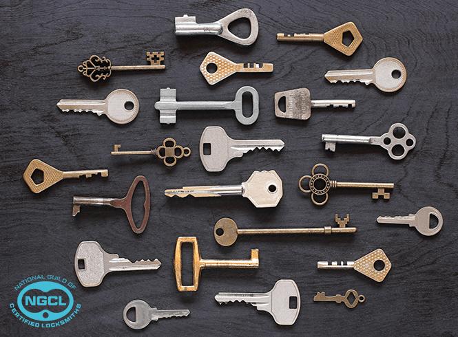 Bundle of Keys laid out