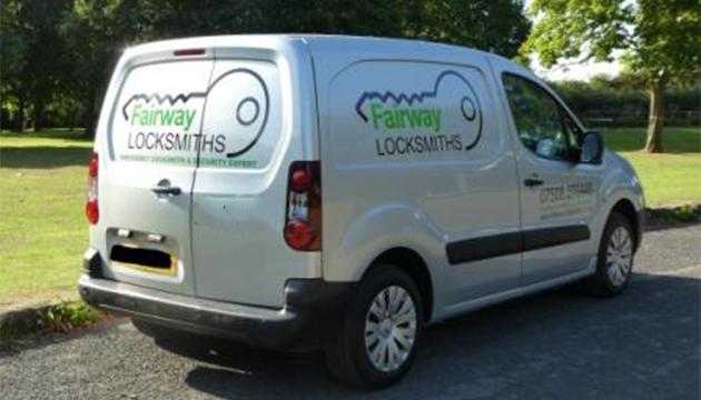 Brian's Locksmith Van