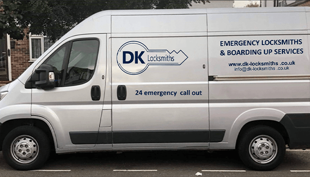 DK Locksmith Van