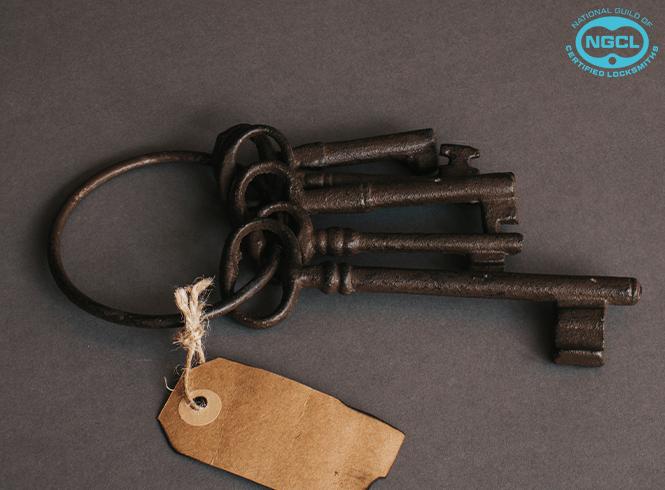 old fashioned keys