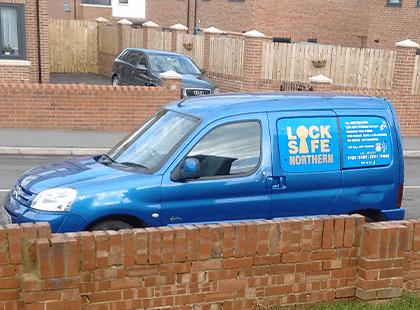 Locksmith Martin's Van