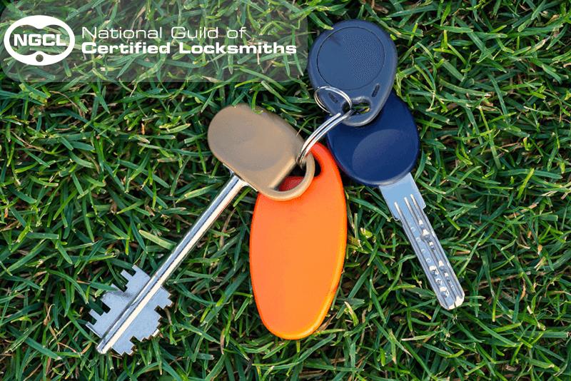 keys on grass lost