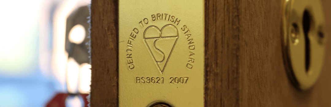 british standard logo on a lock